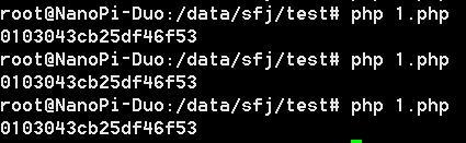 《NanoPi Duo 用php直接操作串口》