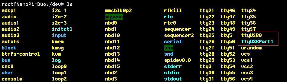 《NanoPi Duo、树莓派 [linux] USB口编号固定,固定USB串口号》