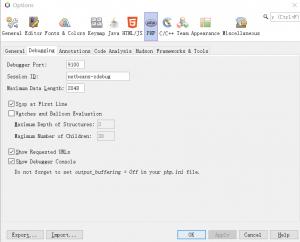 《NetBeans12.1   Xdebug 3.0 断点调试》